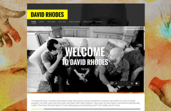 David Rhodes - Gitarre, Gesang & Songwriting